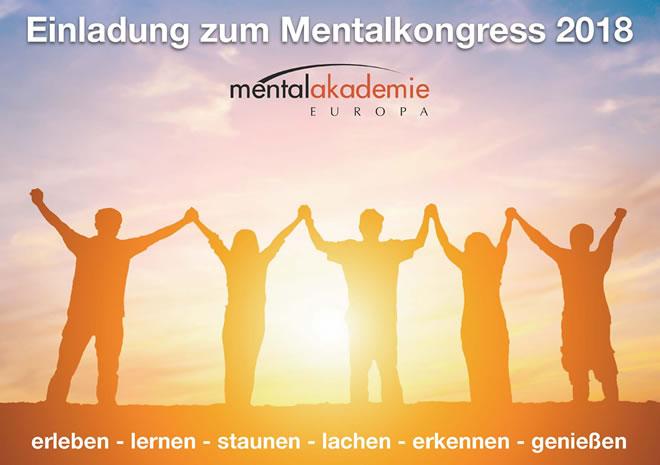 Mentalkongress 2018 Einladung