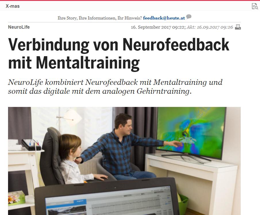 Suche nach dem kreativsten Startup - NeuroLife