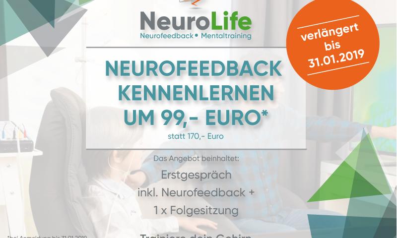 Neurofeedback Kennenlern Angebot verlaengert bis 31.01.2019